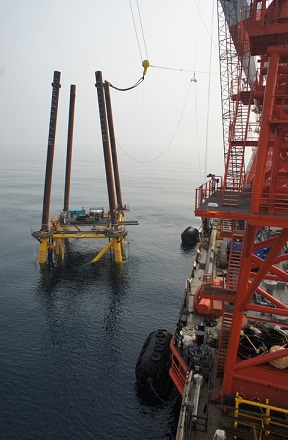 Newsletter Article: Installing Off-Shore Oil Platforms with