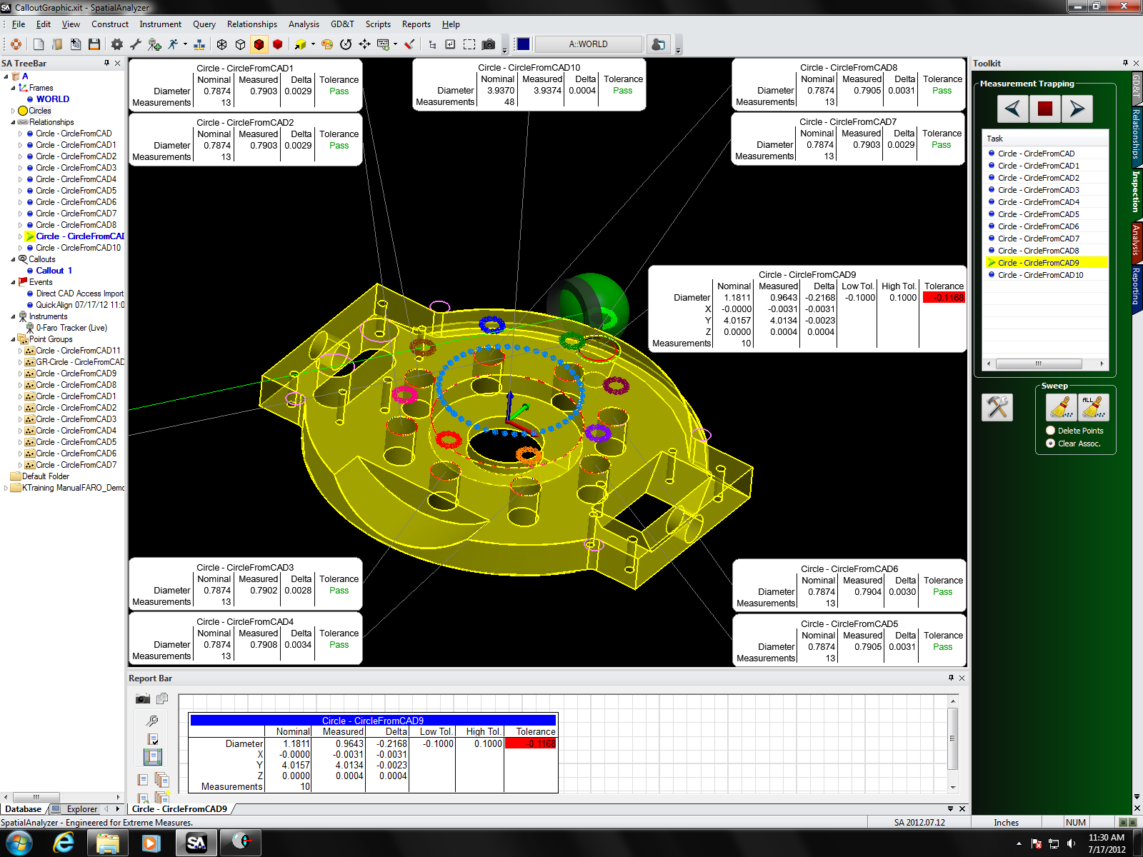 Software spatial analyzer hiwe sqs Web cad software